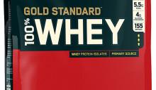 Optimum Nutrition Gold Standard 100% Whey Vanilla Ice Cream10LBS